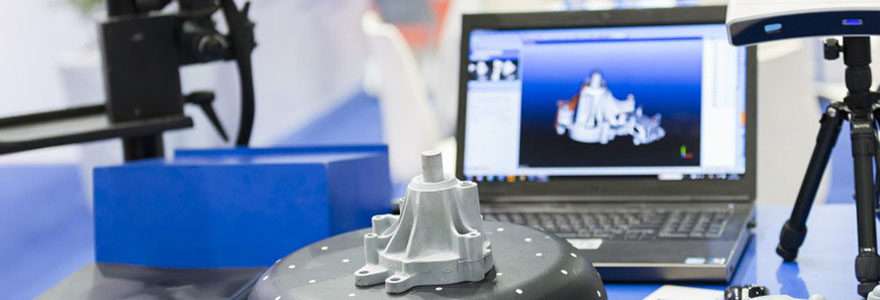 Logiciel 3D adapté à un scanner 3D